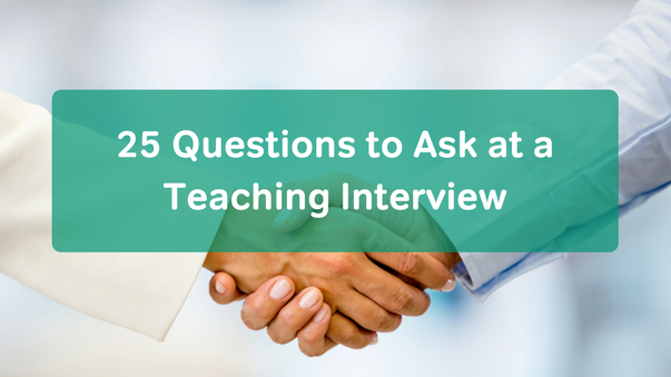 25 Teaching Interview Questions