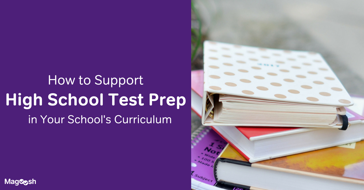 Support test prep in your school curriculum