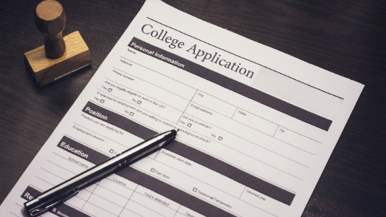 hs - college applicaiton