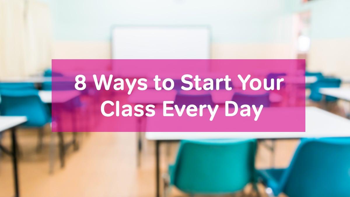 starting class